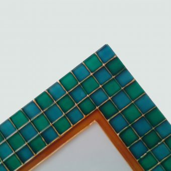 smaragdovo-tyrkysovy detail